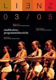 Kulturspiegel 09-08.indd - Stadtkultur Lienz