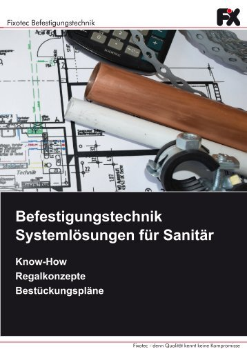 Broschüre Sanitärkonzept DIY