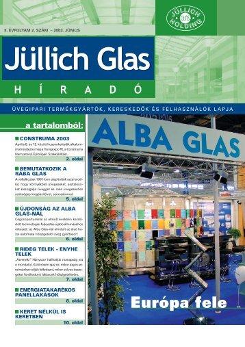 nyári ajánlatunk: béredzés, bérfestés! - Jüllich Glas Holding Zrt.