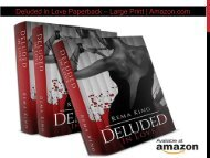 Deluded in Love Paperback – Large Print | Amazon.com