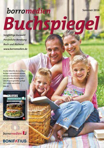 Buchspiegel Sommer 2016