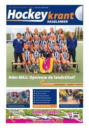 Hockeykrant Haaglanden Voorjaar 2016