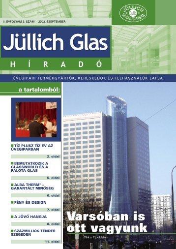Varsóban is ott vagyunk - Jüllich Glas Holding Zrt.