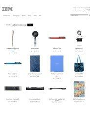 IBM Logostore China IBM中国礼品网北京意飞巅企业策划有限公司