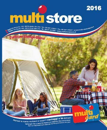 Catalogo Multistore 2016