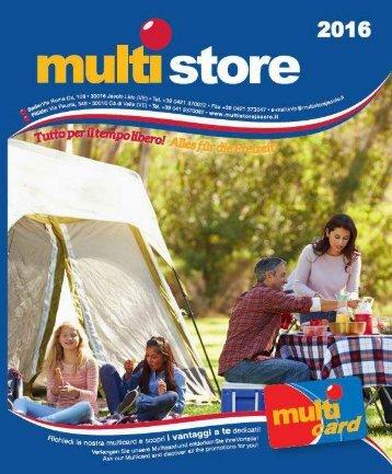 Catalogo Multistore 2016