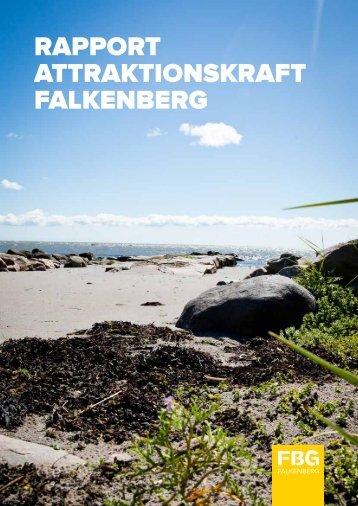 Rapport Attraktionskraft Falkenberg