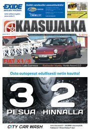 Kaasujalka 5/2016, Keski-Suomi