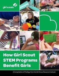 How Girl Scout STEM Programs Benefit Girls