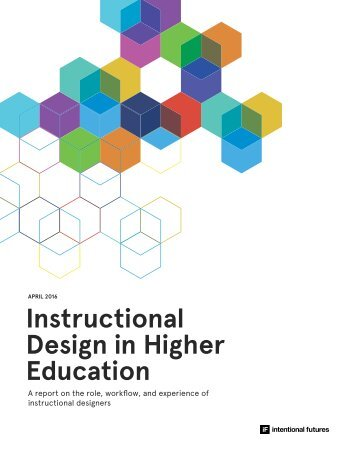 Instructional Design in Higher Education