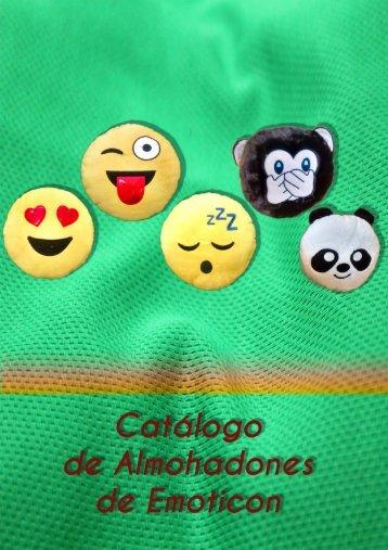 Catálogo de Almohadones de Emoticones CF