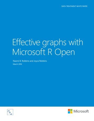Effective graphs with Microsoft R Open
