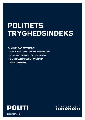 POLITIETS TRYGHEDSINDEKS