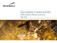 Gary Goldberg President and CEO