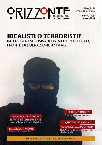 Orizzonte Magazine n°5 Maggio 2016