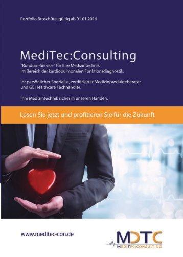 MediTec:Consulting Portfolio