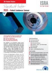 RGS – Robot Guidance Sensor - ISRA VISION AG