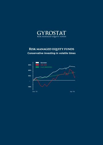 Risk managed equity funds