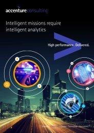 Intelligent missions require intelligent analytics