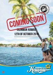 Hannes Hawaii Tours - IM WM Hawaii 2019 EN