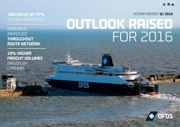 OUTLOOK RAISED FOR 2016