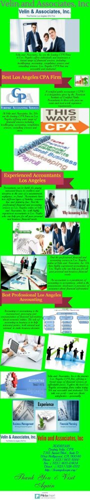 Experienced Professional Los Angeles Accounting Firms
