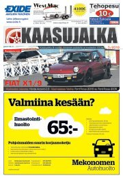 Kaasujalka Päijät-Häme 5/2016