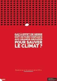 LE CLIMAT ?