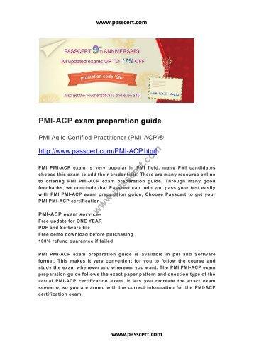 PMI-Agile Certified Practitioner (PMI-ACP) PMI-200 Exam Questions ...