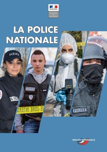 LA POLICE NATIONALE