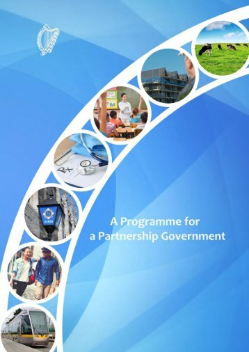 A PROGRAMME FOR A PARTNERSHIP GOVERNMENT