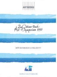 Minos Beach Art Symposium 1990
