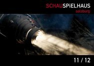 um nur 9.- EURO - Schauspielhaus-Salzburg