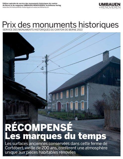 Prix des monuments historiques 2013