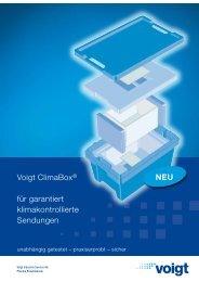 Voigt ClimaBox® für garantiert klimakontrollierte Sendungen NEU