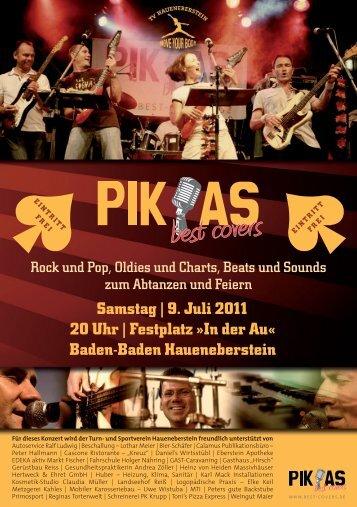 9. Juli 2011 20 Uhr - Turnverein Haueneberstein