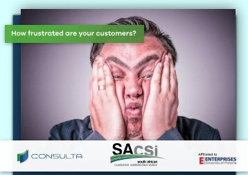 How frustrated are your customers?
