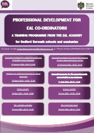 Bedford-EAL-Academy-training-programme