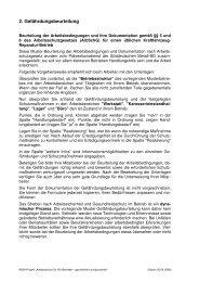 Gefährdungsbeurteilung (pdf)