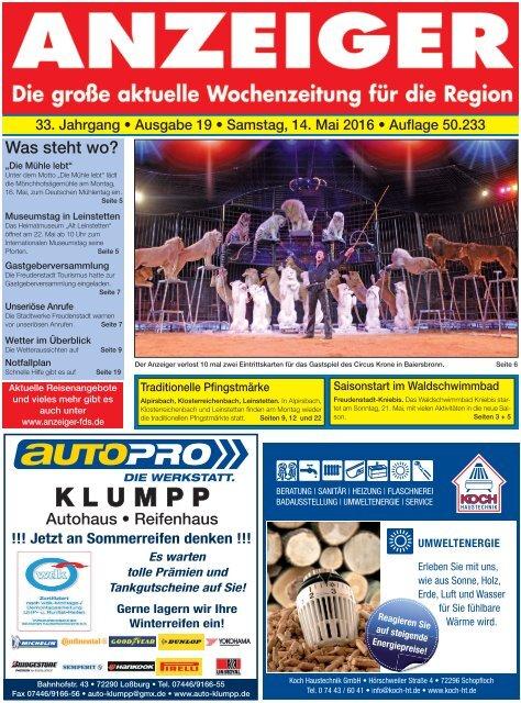 Anzeiger Ausgabe 19/16