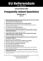 EU Referendum FAQ v4