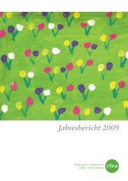 Jahresbericht 2009 (PDF) - Silea