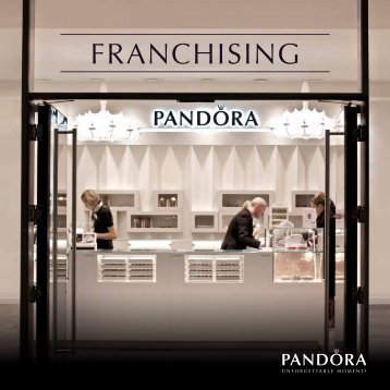 Pandora franchise_Brochure