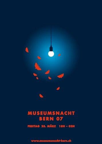 Info-Zentrum, 5 Bundeshaus, 11 Käfigturm - Museumsnacht Bern