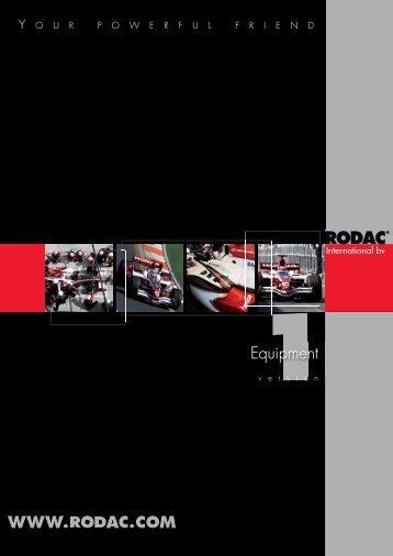 WWW.RODAC.COM Equipment