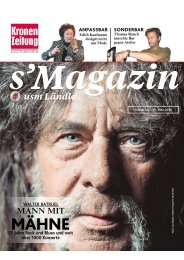 s'Magazin usm Ländle, 15. Mai 2016