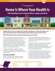 Home Is Where Your Health Is