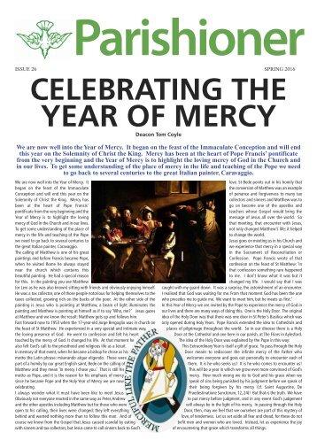 The Parishioner - Edition 26 Spring 2016