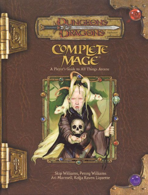 D&D 3 5 - Complete Mage [OEF]