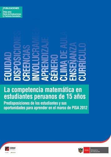 La competencia matemática en estudiantes peruanos de 15 años